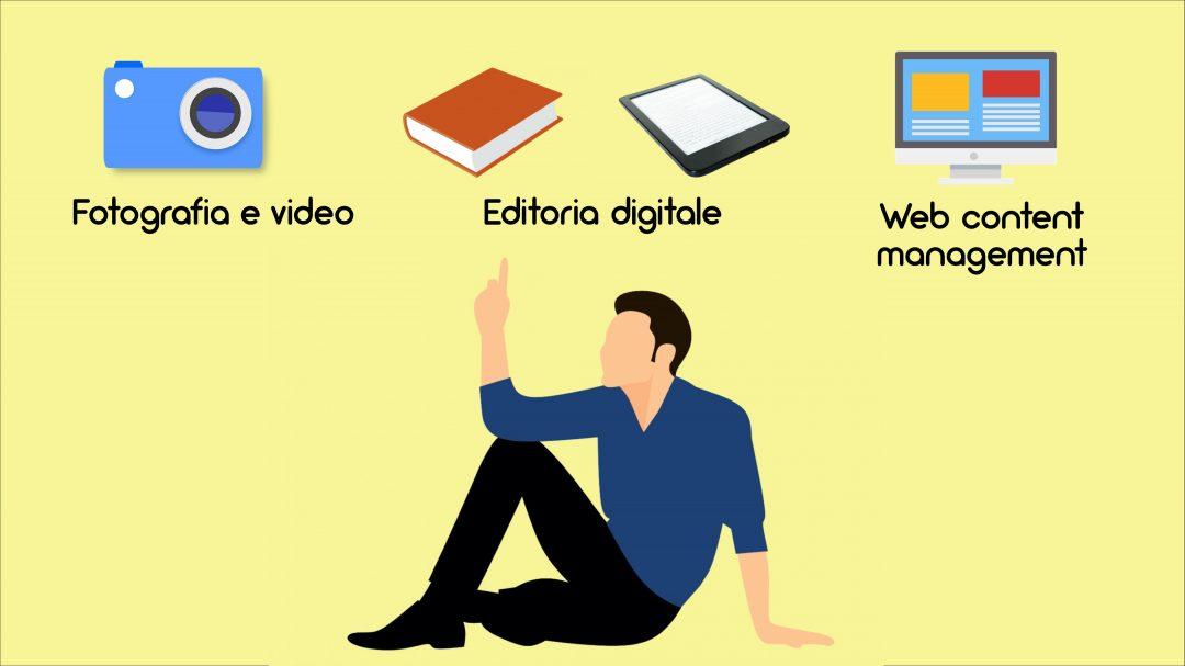 Laboratori Fotografia e video, Editoria digitale, Web content management