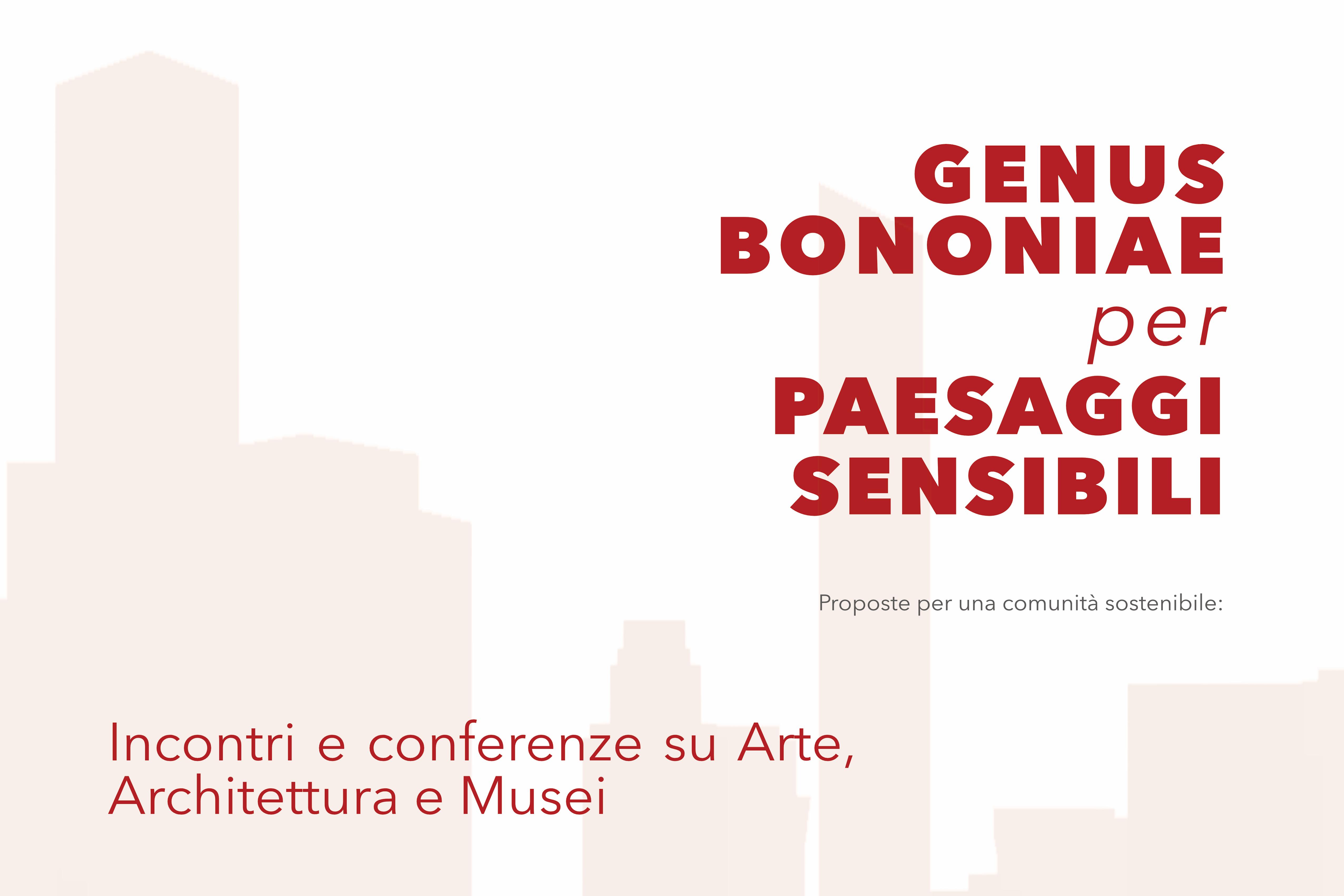 Incontri e conferenze su Arte, Architettura e Musei