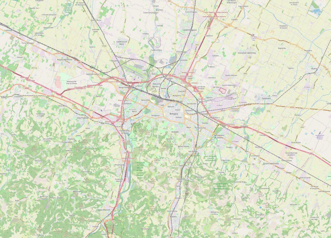 Mappa Bologna